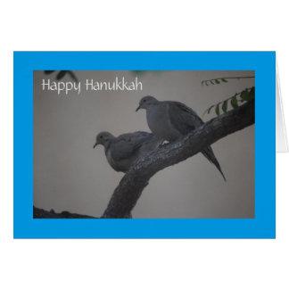 HAPPY HANUKKAH (Doves of Peace) Card