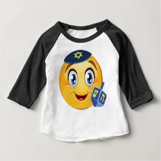 Happy Hanukkah Emoji Baby T-Shirt