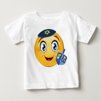Happy Hanukkah Emoji Baby T-Shirt