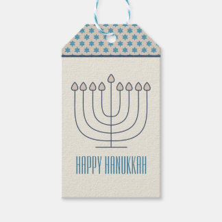Happy Hanukkah Gift Tag Pack Of Gift Tags