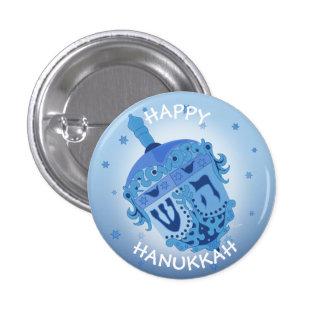 HAPPY HANUKKAH HOLIDAYS Small, 1¼ Inch 1 Inch Round Button