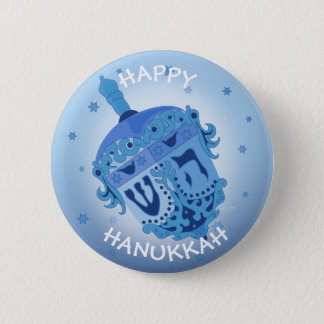 HAPPY HANUKKAH HOLIDAYS Standard, 2¼ Inch 2 Inch Round Button