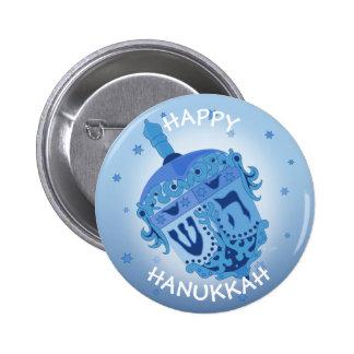 HAPPY HANUKKAH HOLIDAYS Standard, 2¼ Inch 2 Inch Round Button