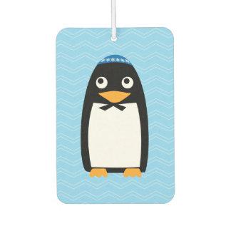 Happy Hanukkah Jewish Penguin Yarmulke Air Freshener