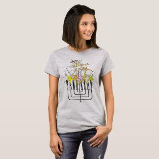 Happy HANUKKAH LIGHTS T-Shirt