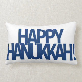 Happy Hanukkah! Lumbar Pillow
