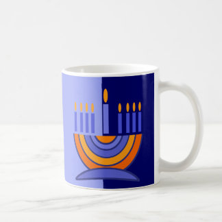 Happy Hanukkah Menorah Design Gift Mug