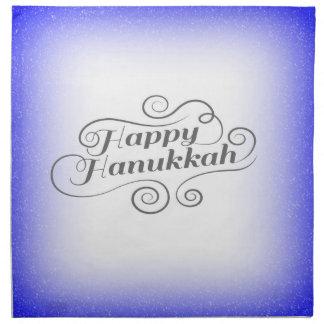Happy Hanukkah Napkin