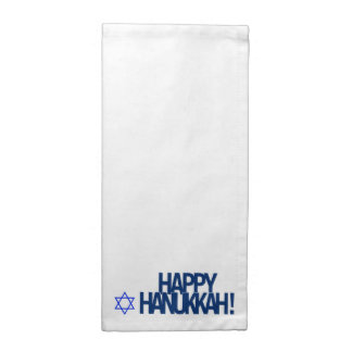 Happy Hanukkah Napkins