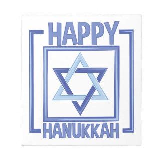 Happy Hanukkah Notepads
