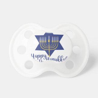 Happy Hanukkah Pacifiers