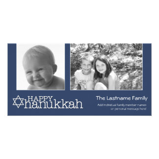 Happy Hanukkah - Photo Collage Card