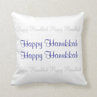 Happy Hanukkah Pillow