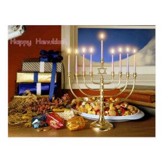 Happy Hanukkah Postcards