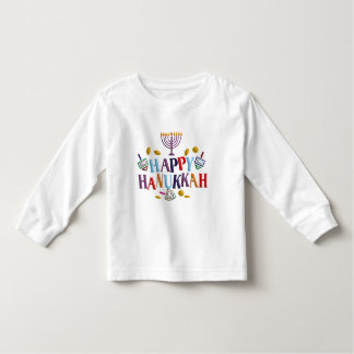 Happy Hanukkah Toddler T-shirt