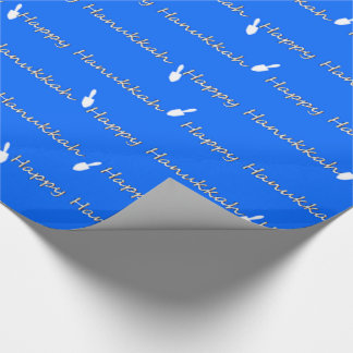 Happy Hanukkah Wishes Wrapping Paper