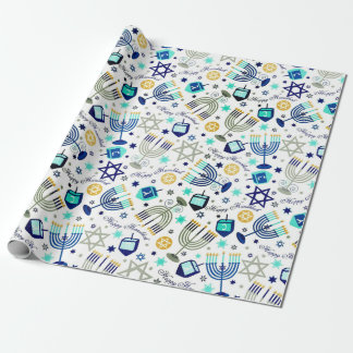 Happy Hanukkah Wrapping Paper