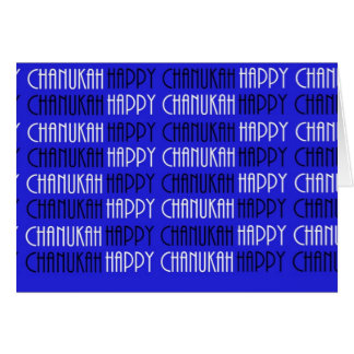 Happy Happy Chanukah Card