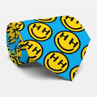 Happy hardcore smiley face novelty tie