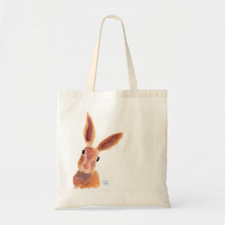 Happy Hare ' Jim Jam' by Shirley MacArthur Tote Bag