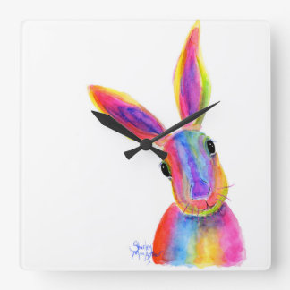 Happy Hare ' ZIGGY ' Wall Clock