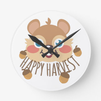 Happy Harvest Clock