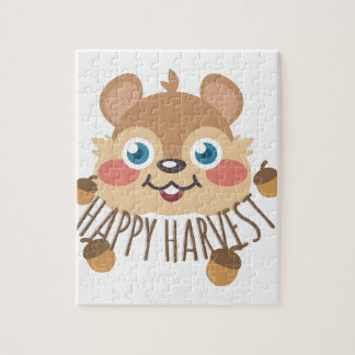 Happy Harvest Jigsaw Puzzle