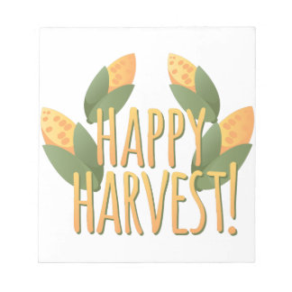Happy Harvest Notepads