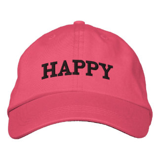 Happy hat, for sale ! embroidered hat
