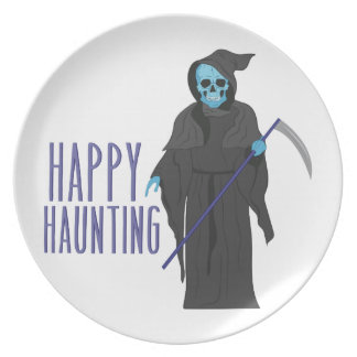 Happy Haunting Dinner Plate