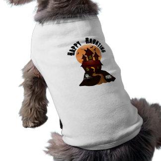 Happy Haunting Halloween Dog Shirt