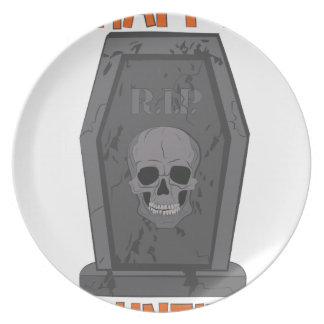 Happy Haunting Party Plate