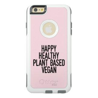 Happy Healthy Plant Based Vegan (blk) OtterBox iPhone 6/6s Plus Case