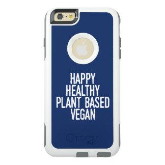 Happy Healthy Plant Based Vegan (wht) OtterBox iPhone 6/6s Plus Case