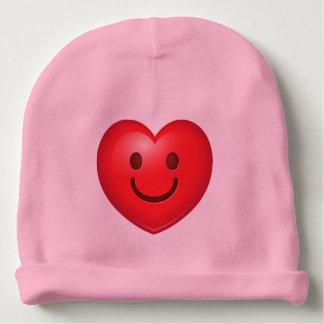 Happy Heart Emoji Baby Beanie