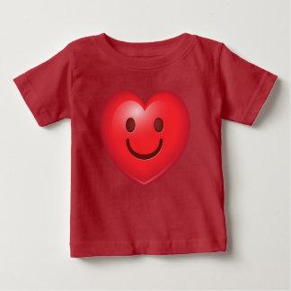 Happy Heart Emoji Baby T-Shirt