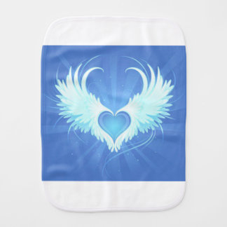 Happy heart LOVE Burp Cloth