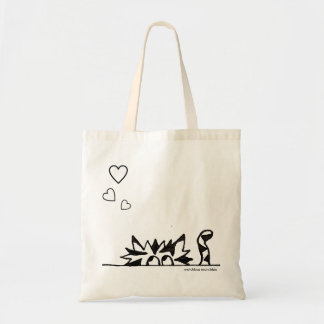 Happy heart shopping tote