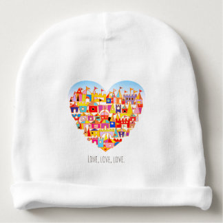 Happy Heart Village Baby Beanie
