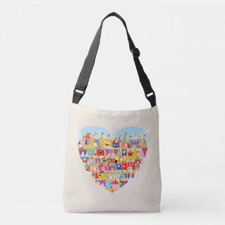 Happy Heart Village Crossbody Bag
