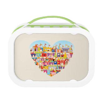 Happy Heart Village Lunch Box
