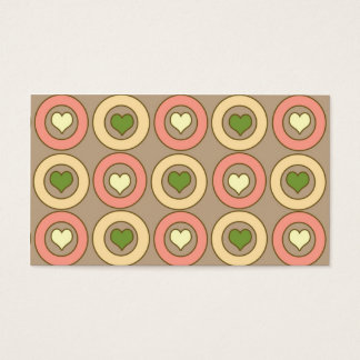 Happy Hearts Business Card