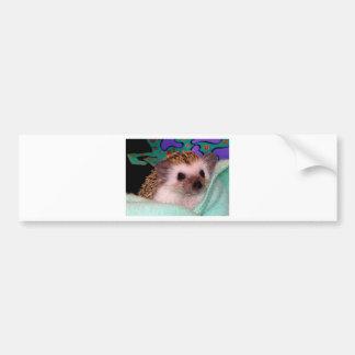 Happy Hedgehog Bumper Sticker