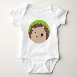 Happy Hedgehog - Woodland Friends Baby Bodysuit