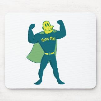 Happy Hero Stuff Mouse Pad