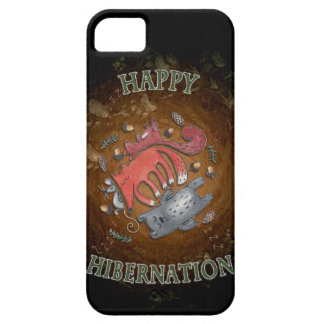 Happy Hibernation iphone Cover