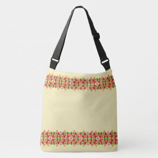 Happy Hibiscus Flowers Tropical Tote Bag