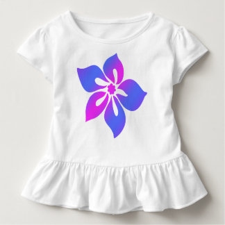 Happy Hibiscus Tropical Floral Blend Toddler T-shirt