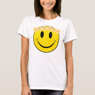 Happy Hippie Face T-Shirt
