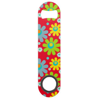 Happy Hippie Flowers Bar Key